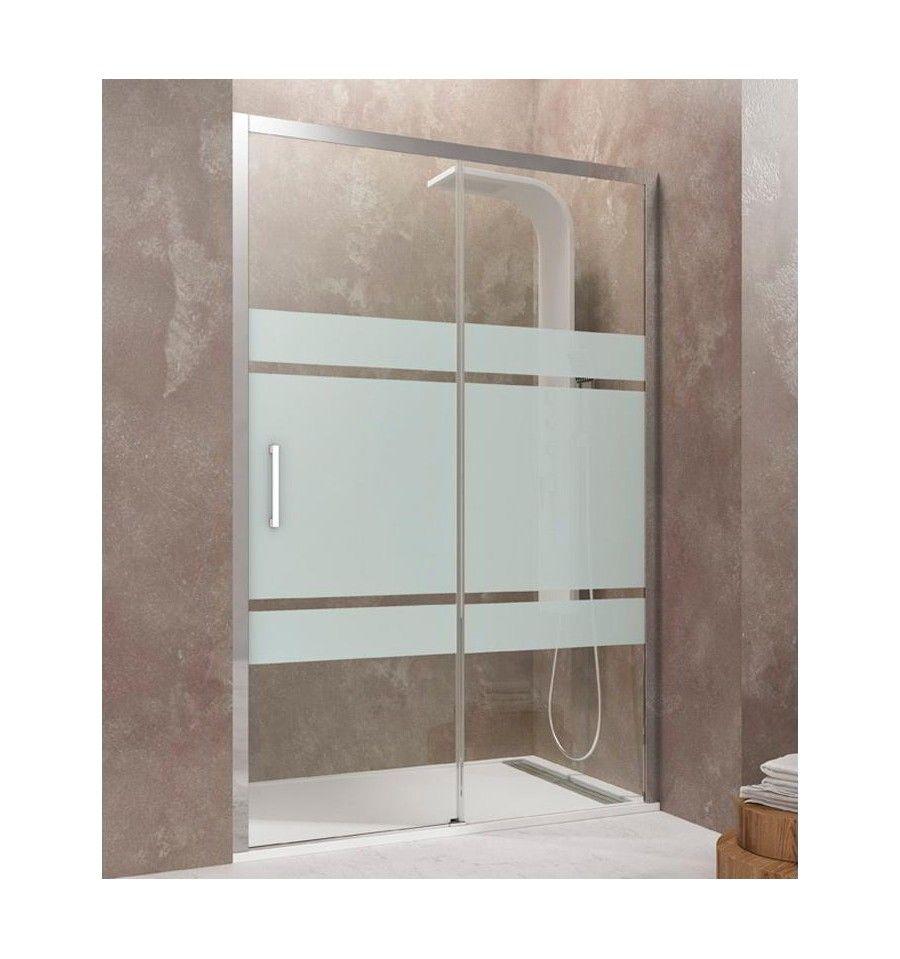 Mampara de ducha modelo aktual 1 fijo 1 corredera con - Cristales para mamparas ...