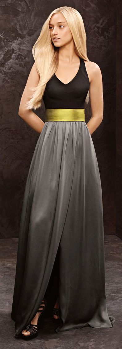 54479fb6432 12 Stunning  Bridesmaid Dresses by  VeraWang. Choose your favorite.