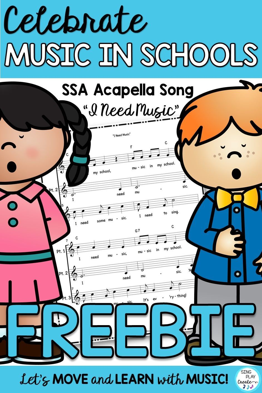 Freebie Downloads Elementary Choir Music Education Activities