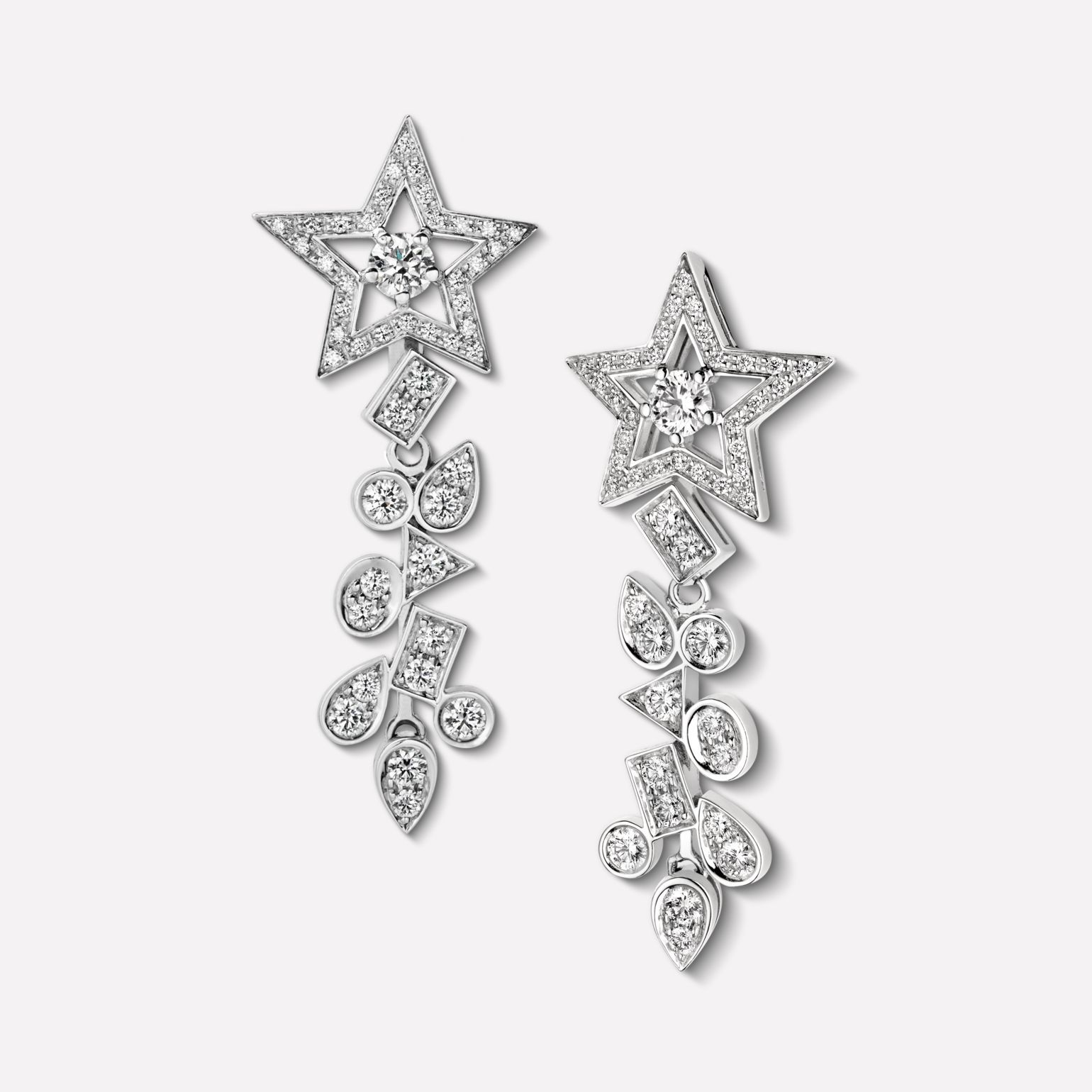 The comète fine jewellery collection chanel jewelry pinterest
