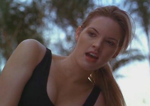 Mortal Kombat (1995) Bridgette Wilson as Sonya Blade ...