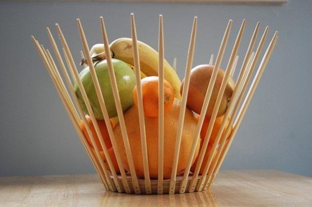 Home & Garden 2 Pairs Creative Natural Handmade Wood Chopsticks Gift Tableware Chopsticks Factories And Mines