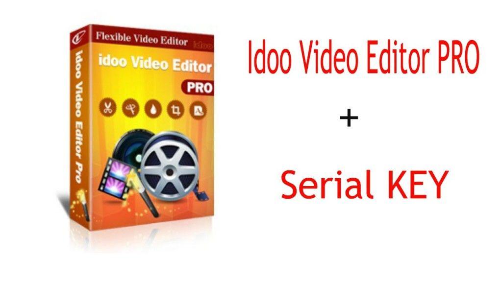 idoo video editor pro 3.5 0 serial key