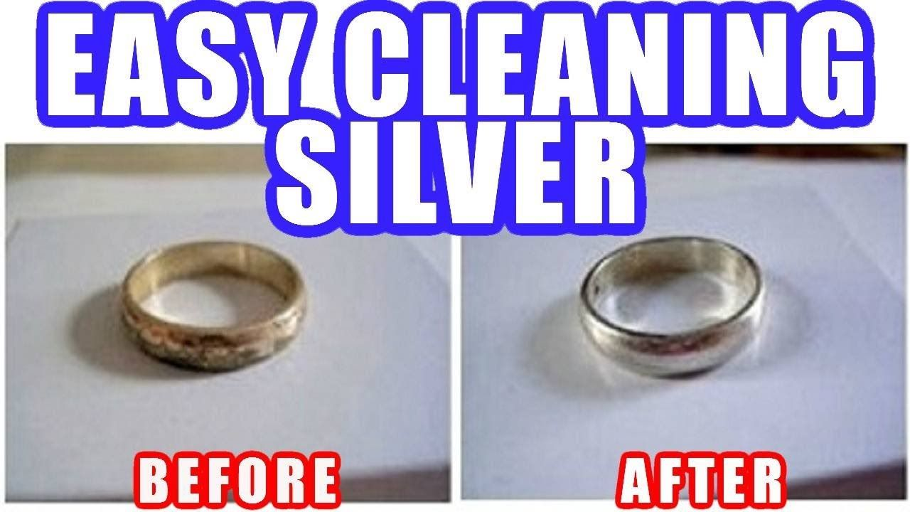 Easy Cleaning Silver  Cleaning silver jewelry, Simple silver