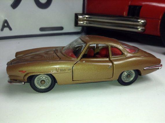 Alfa Romeo Giulia 1 43 Diecast Metal Model Vintage Toy Car Italy Politoys Barn Find Automobile On Etsy 37 50 Toy Car Vintage Toys Diecast