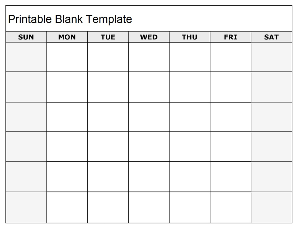 Free Printable Blank Calendar For Office And Word Template Blank Monthly Calendar Monthly Calendar Printable Free Blank Calendar