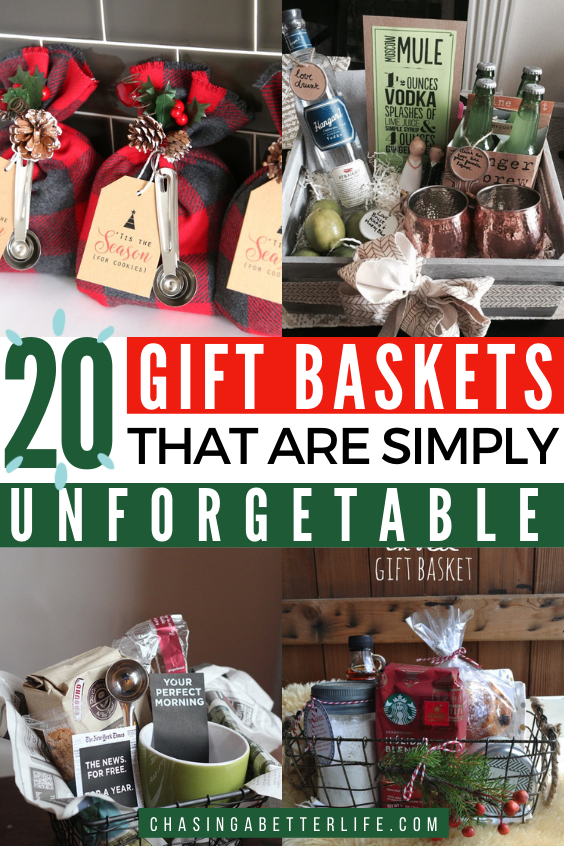 Gift Baskets: 30 Ideas for Any Gift : Chasing a Better Life