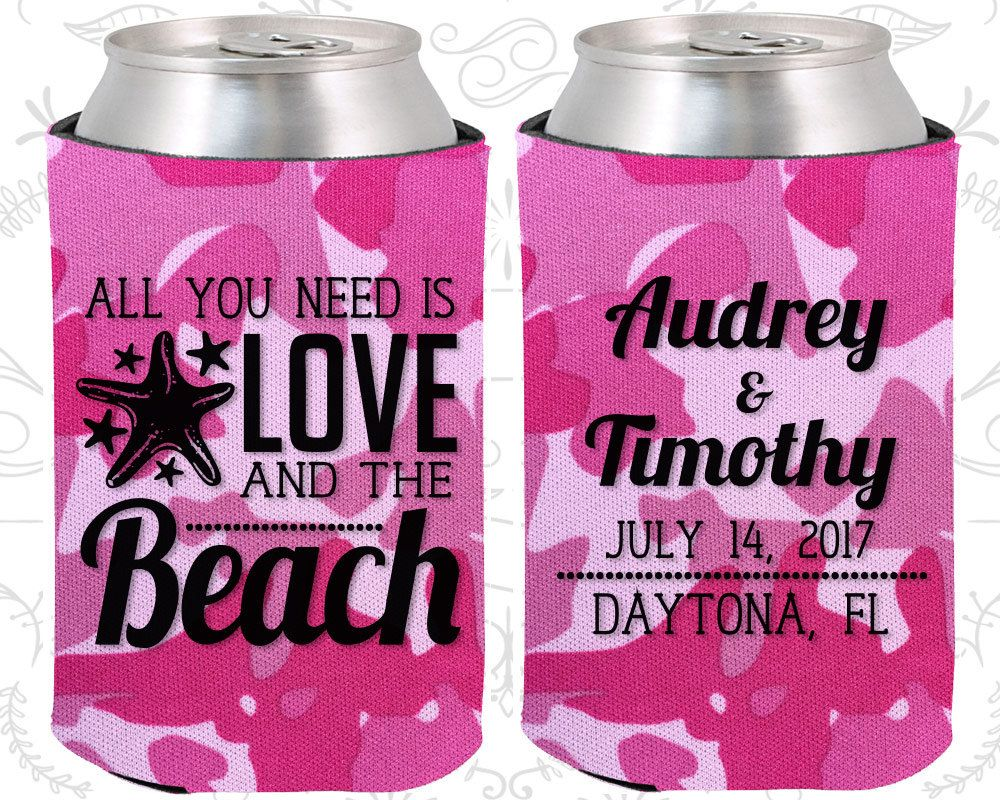 All you Need is Love and the Beach, Custom Wedding Favors, Beach ...