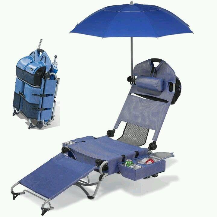 Complete beach chair