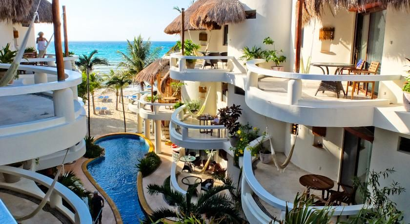 Aud  Offering An Outdoor Pool And A Private Beach Area With Stunning Views Of The Sea Playa Palms Beach Hotel Is Situated Steps From Famous Avenue And