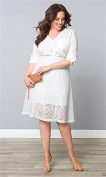 Plus Size Muse Lace Midi Skirt-Sale!