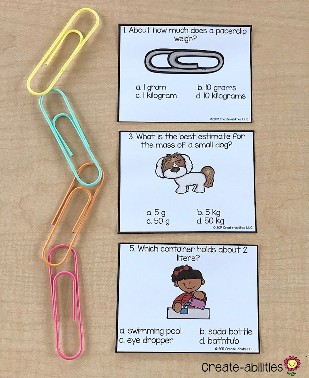 3rd Grade Measurement Math Centers With Images