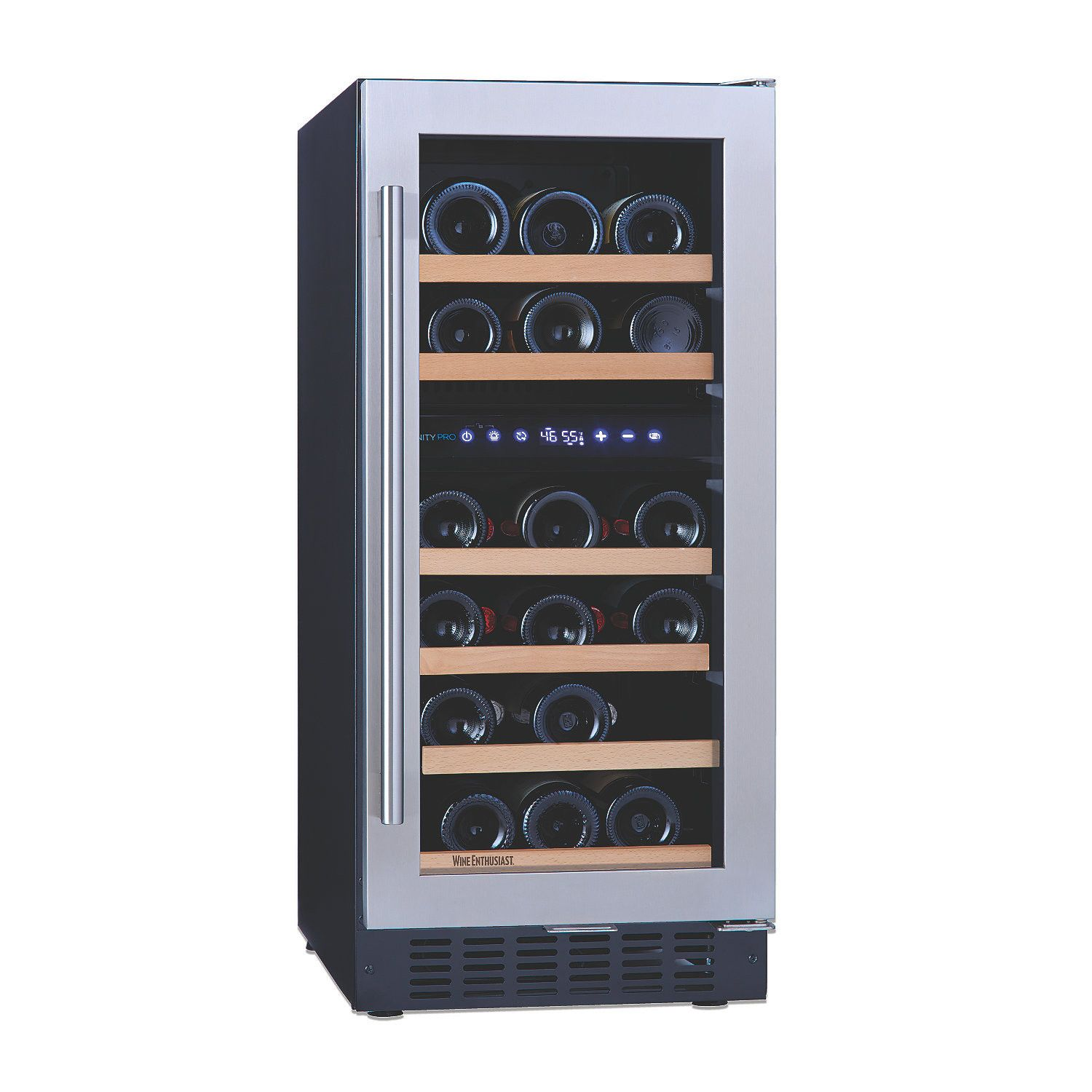 2018 Dual Zone Wine Cabinet - Kitchen Shelf Display Ideas Check more at /  sc 1 st  Pinterest & 2018 Dual Zone Wine Cabinet - Kitchen Shelf Display Ideas Check more ...