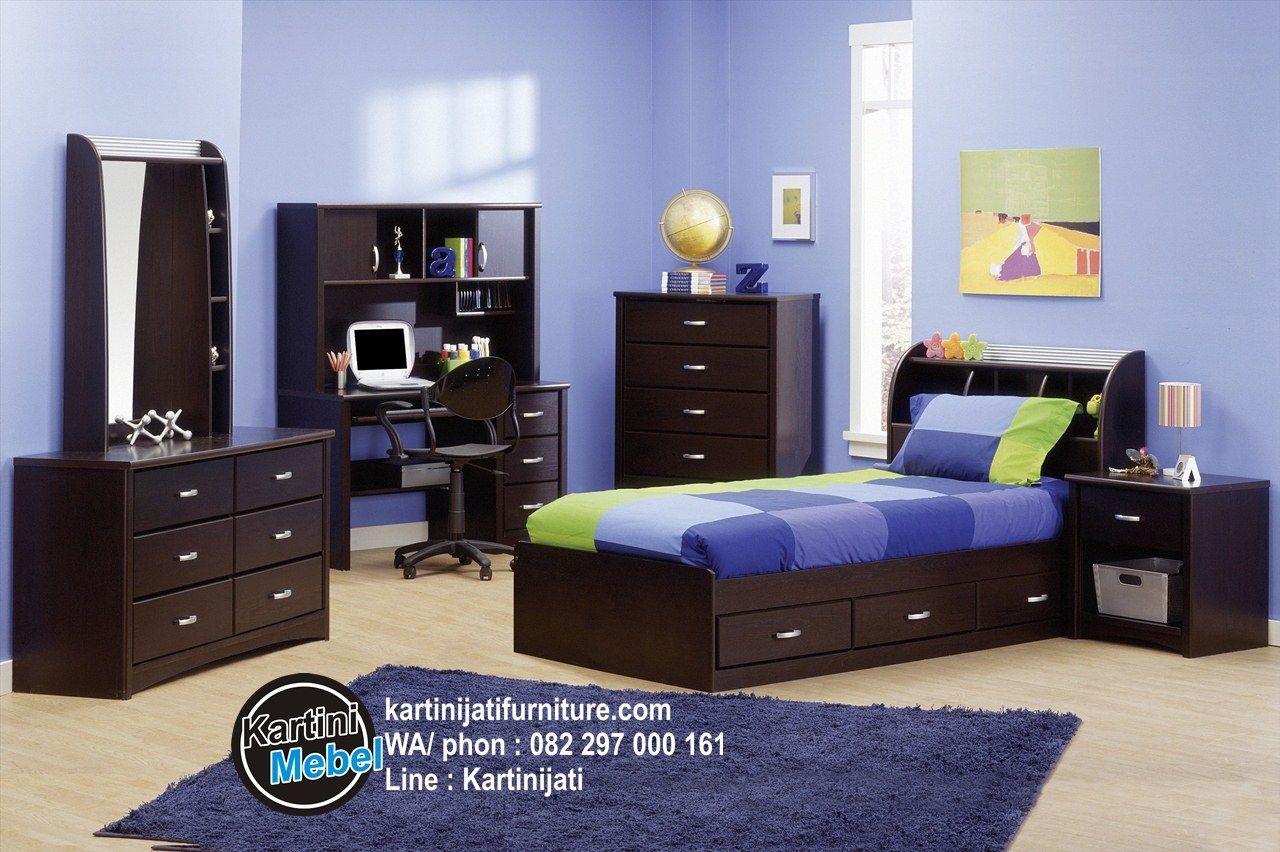 Harga set kamar anak laki lakilaki set kamar anak minimalis mebel