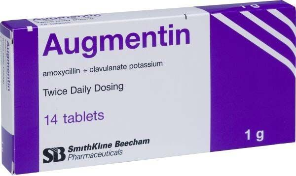 اوجمنتين Augmentin Daily Dose Health Dose
