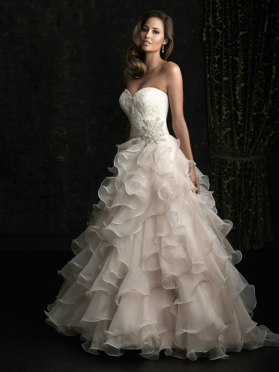 Boho Elegant Ruffled Gown (With images) Sweetheart