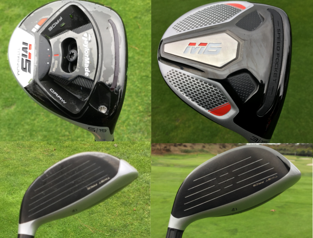 TaylorMade goes titanium, Twist Face for M5, M6 fairway