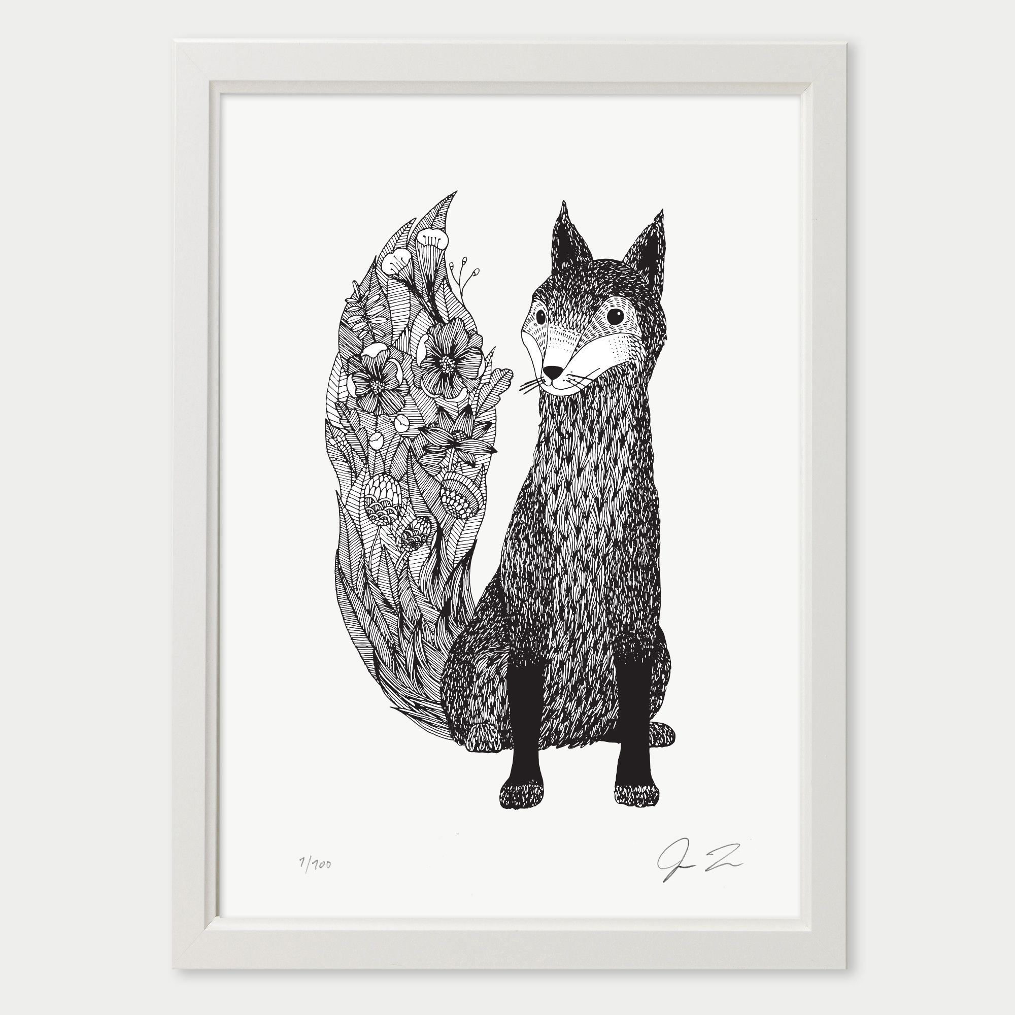 Illustration by Justin LandonSigned and NumberedLaser Print in Deep BlackPrinted on Hahnemühlen Drawing PaperSIZES:A4:…
