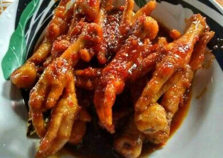 Resep Ceker Ayam Kecap Pedas Oleh Elmidiyanti Resep Resep Resep Ayam Resep Masakan
