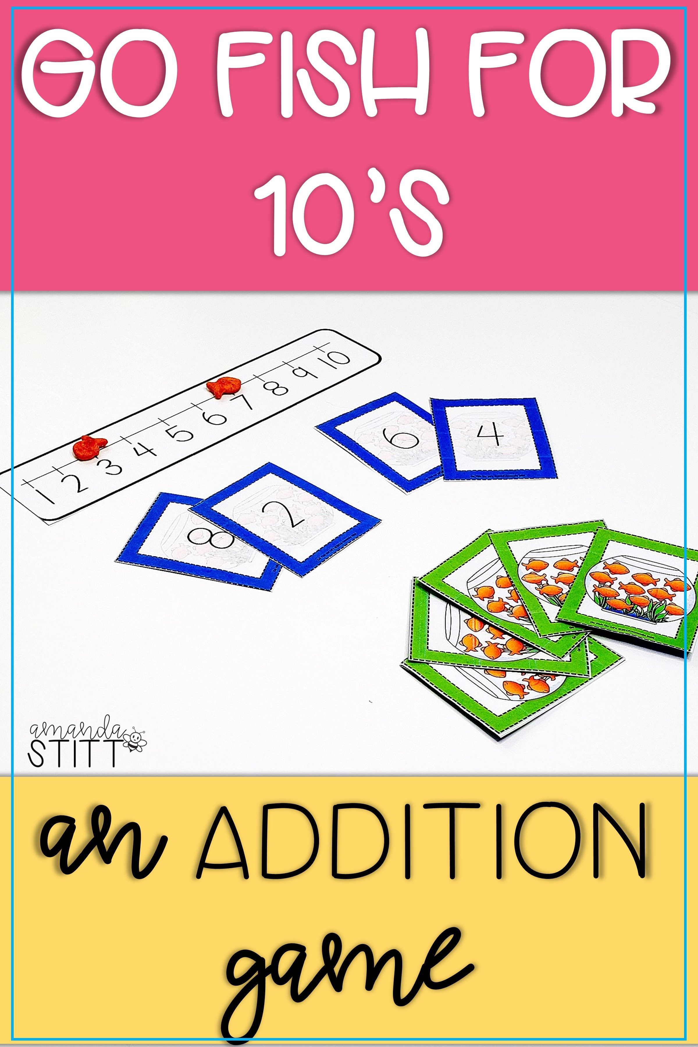Addition Go Fish