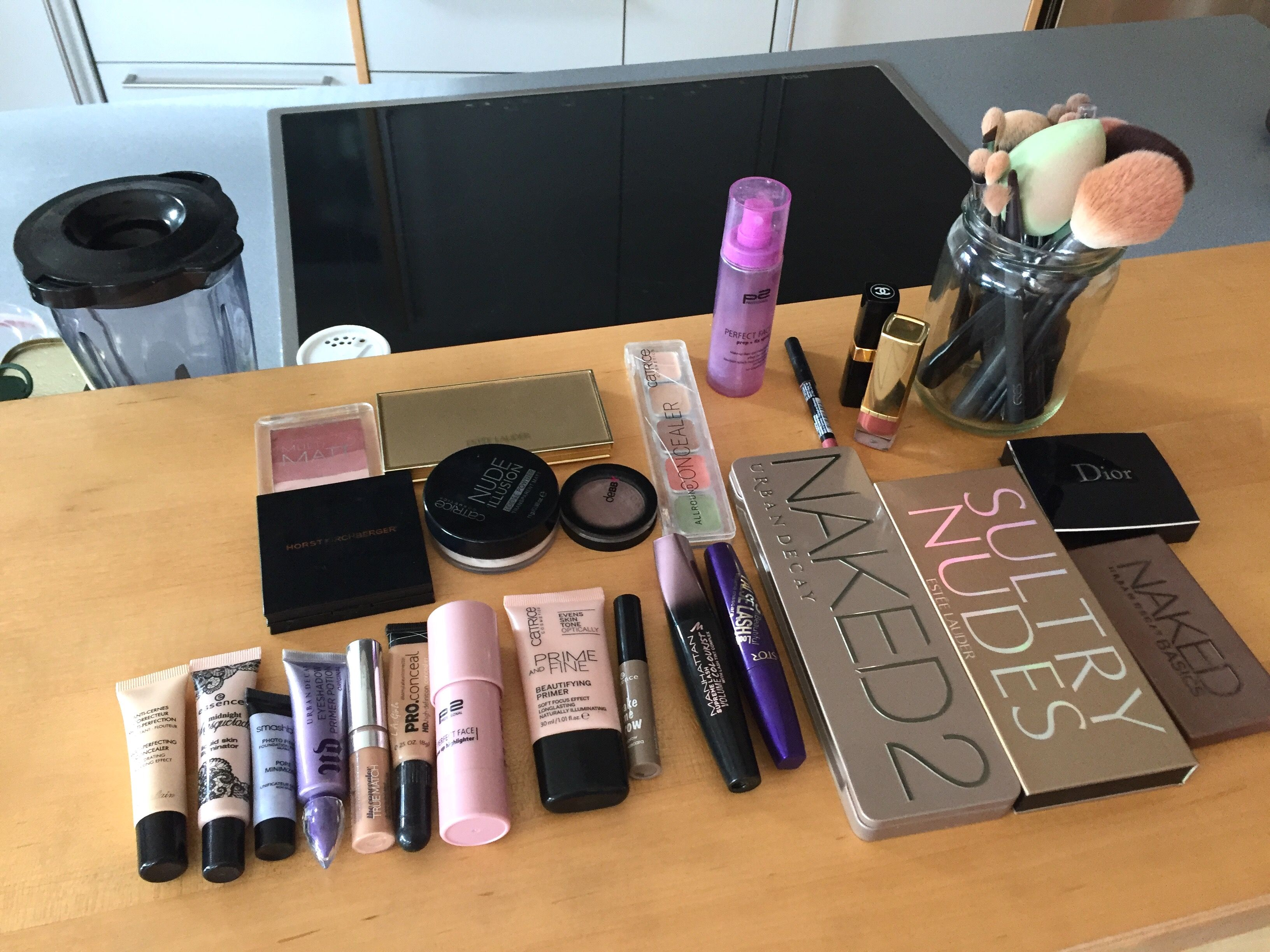Some of my own make-up