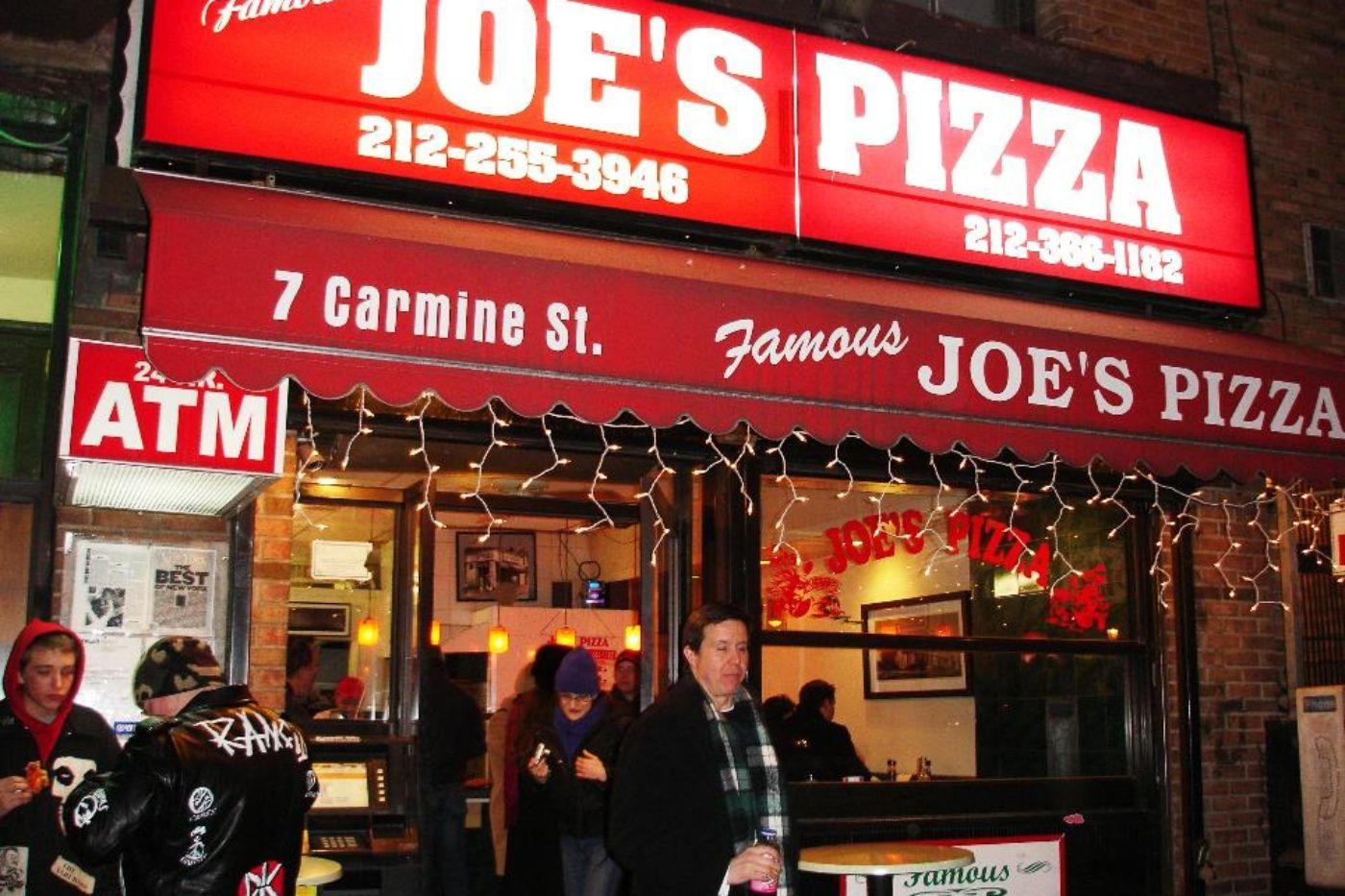 Joe S Pizza Roadfood Joe S Pizza Pizza Joes