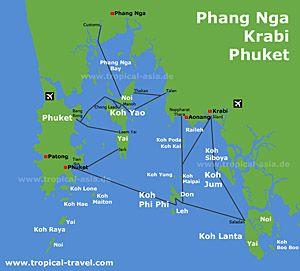 Koh Yao yai - Koh Yao noi - Thailand - travel information and cheap hotel booking