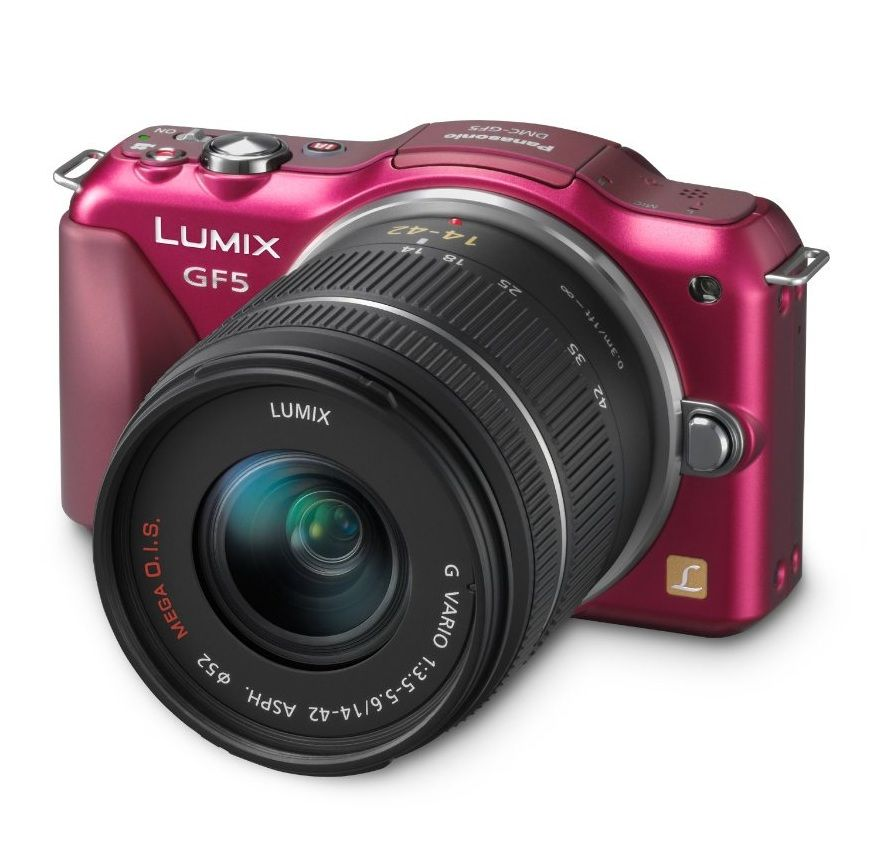 Panasonic Lumix DMC-GF5XR 12.1MP Digital Camera- Bought this yesterday and I can't wait for it to arrive!