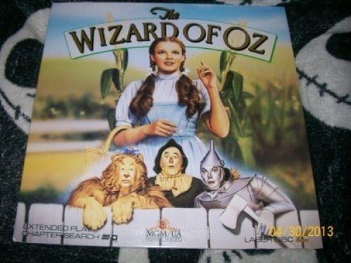 The Wizard of Oz Laserdisc LD Judy Garland