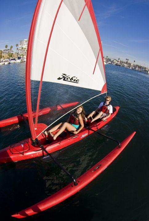 Hobie Mirage Tandem Island #sunfishsailboat
