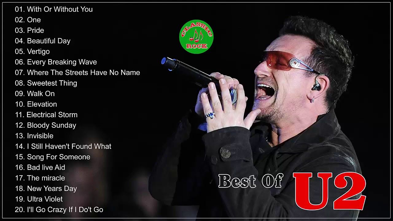 Best Of U2 - Collection de chansons rock 3ba0a1167cfe21896c2c3b22961c156c