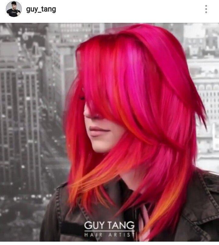 50 Cosmic Dark Purple Hair Hues For The New Image Lovehairstyles 5: Pin By Christina Watt On Guy Tang, Hair God Creations