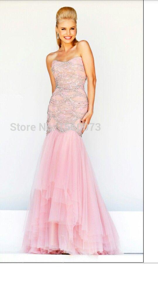 en rosa de tul | vestidos fiesta | Pinterest | Tul, Rosas y Vestidos ...