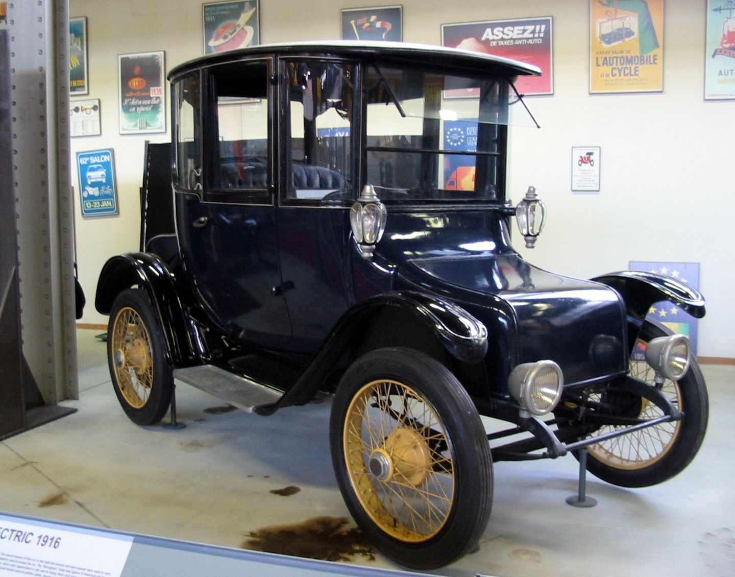 1916 Detroit Electric Electric Cars Hybrid Car Electric Motor