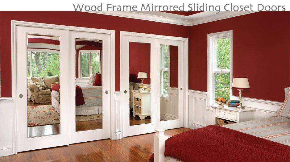 Mirrored Sliding Closet Door