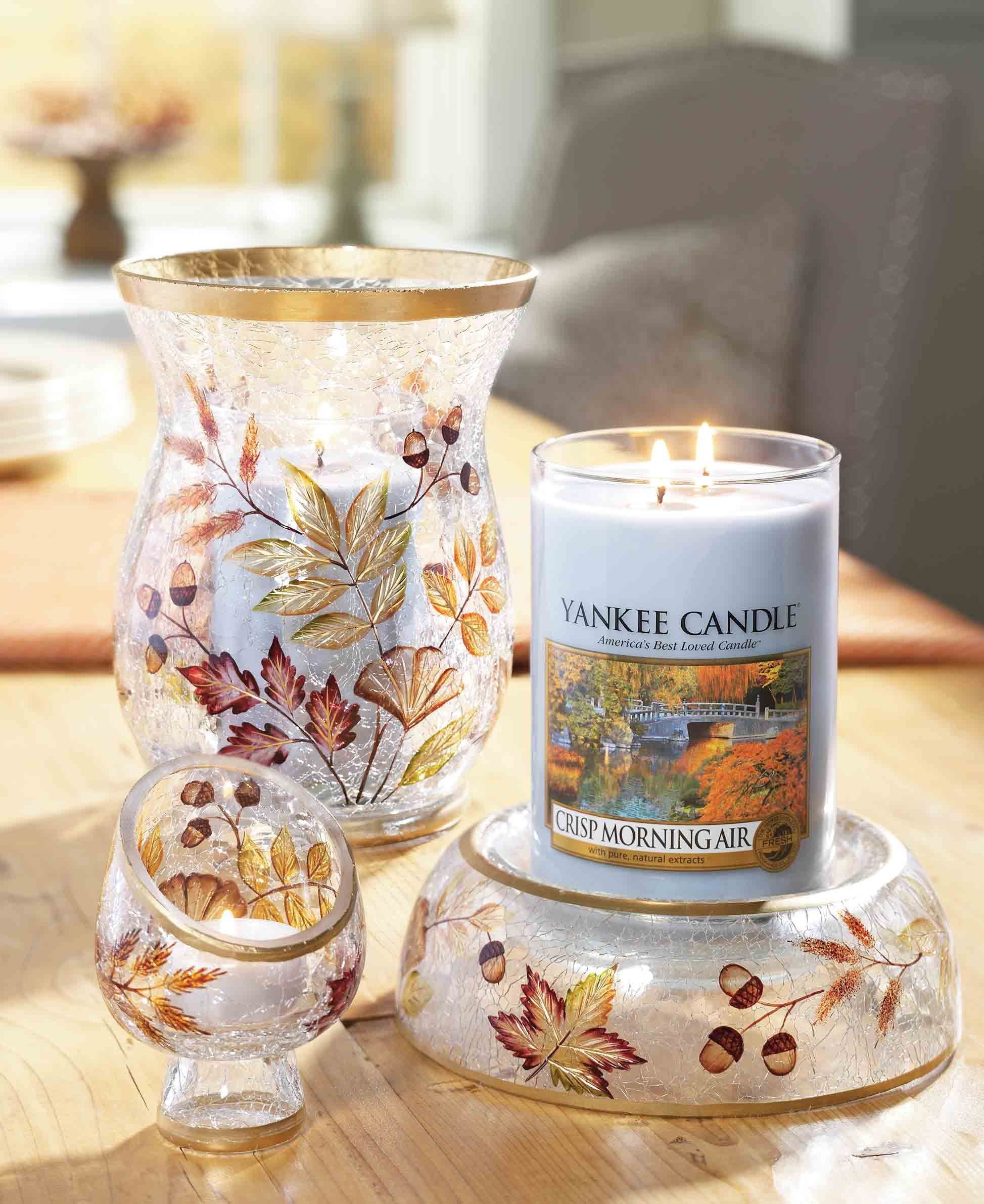 Set the room in autumnus colors my yankee candles pinterest