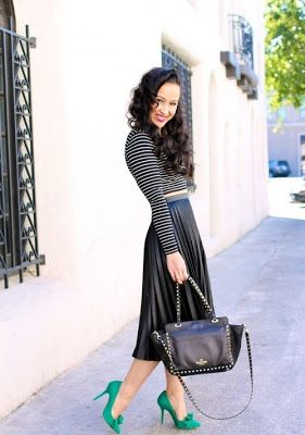 nuevo concepto bd738 b380d Faldas para Bajitas | Faldas en 2019 | Moda faldas, Faldas ...