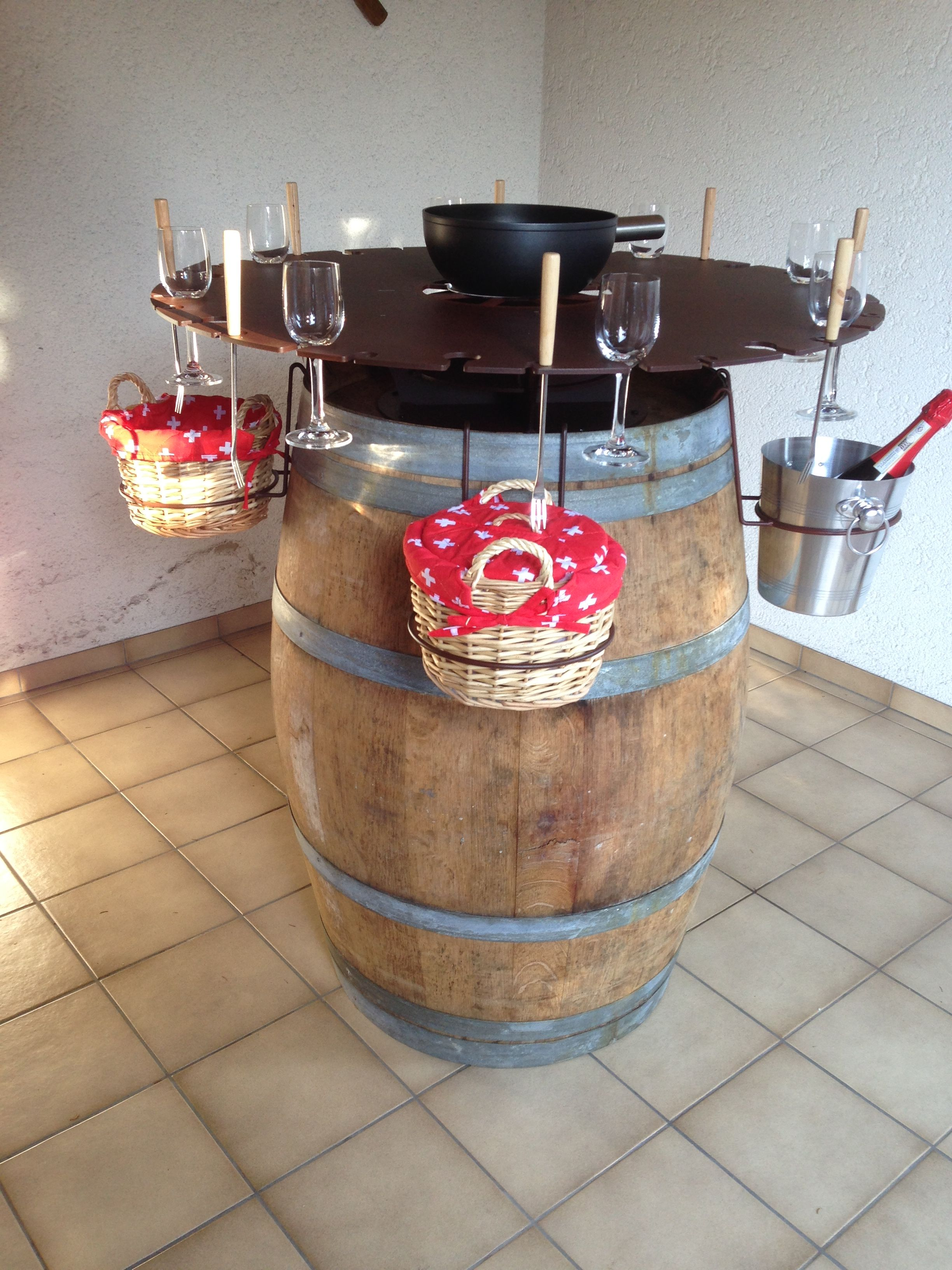 fondue bar f r outdoor fondue pinterest fondue and kitchens. Black Bedroom Furniture Sets. Home Design Ideas
