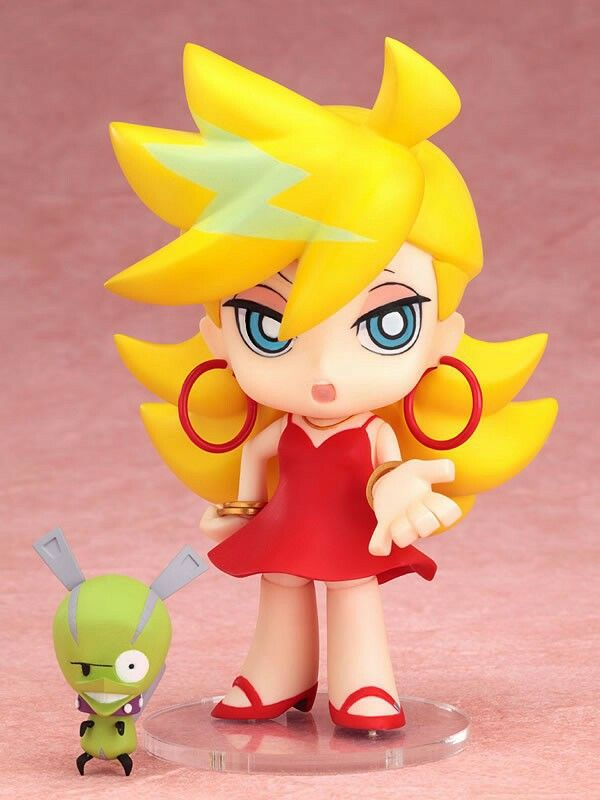 Panty /& Stocking with Garterbelt Nendoroid Panty non-scale ABS /& PVC painted ac