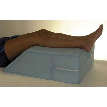 Elevating Leg Rest With Cover N6500 Blue Decor Memory Foam