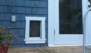 exterior door with built in pet door. Sweet and Spicy Bacon Wrapped Chicken Tenders  Pet FlapsPet DoorDog Insulation