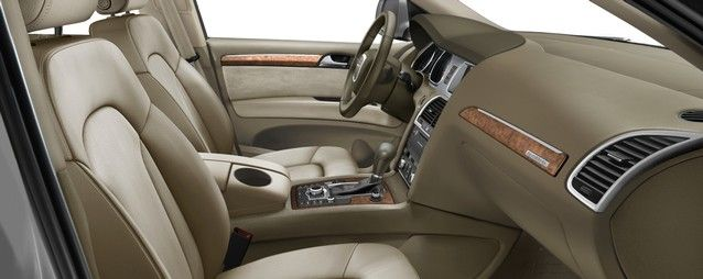 Q7 Interior Colors Leather Seating Surfaces In Cardamom Beige Interior