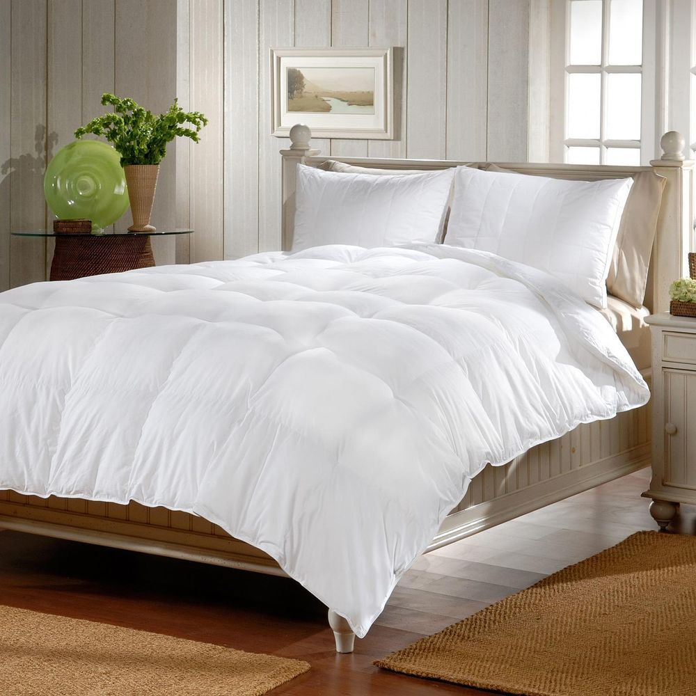 Queen Size Comforter Bed Set Cannon Microfiber Down