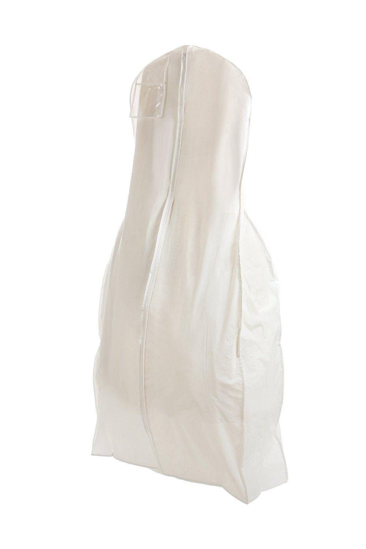 White Wedding Gown Travel /& Storage Garment Bag White, Large