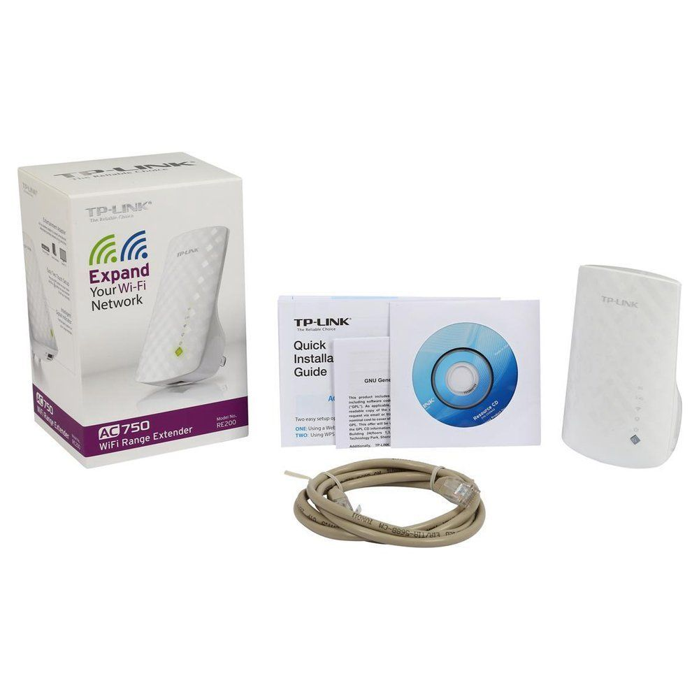 Amazon Com Tp Link Ac750 Dual Band Wifi Range Extender Extends Wifi To Smart Home Alexa Devices Re200 Electroni Alexa Device Wifi Signal Booster Tp Link