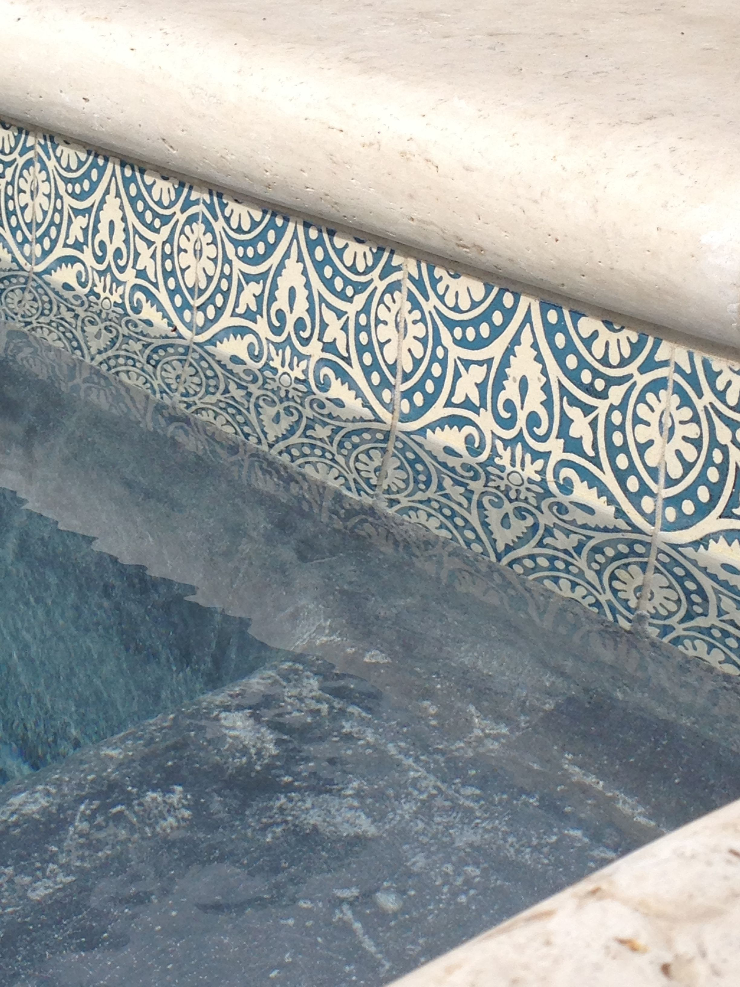 Decorative Pool Tile Amusing Patterson Collection  Low Relief Beautiful For A Pool So Decorating Inspiration