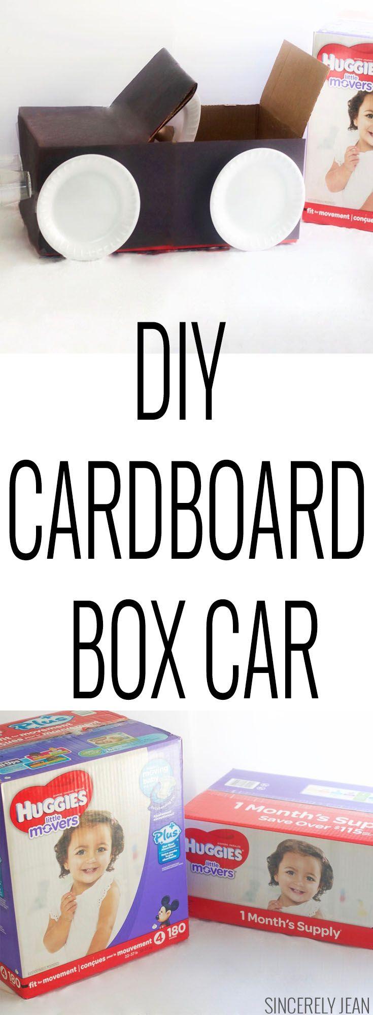 Diy cardboard box car with images cardboard box car
