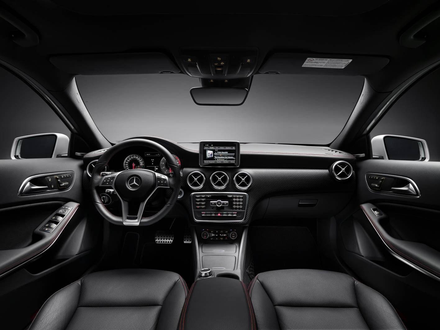 Mercedes benz a class 250 sport interior