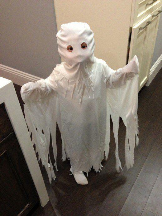 Homemade Halloween Costumes Ghost Costumes