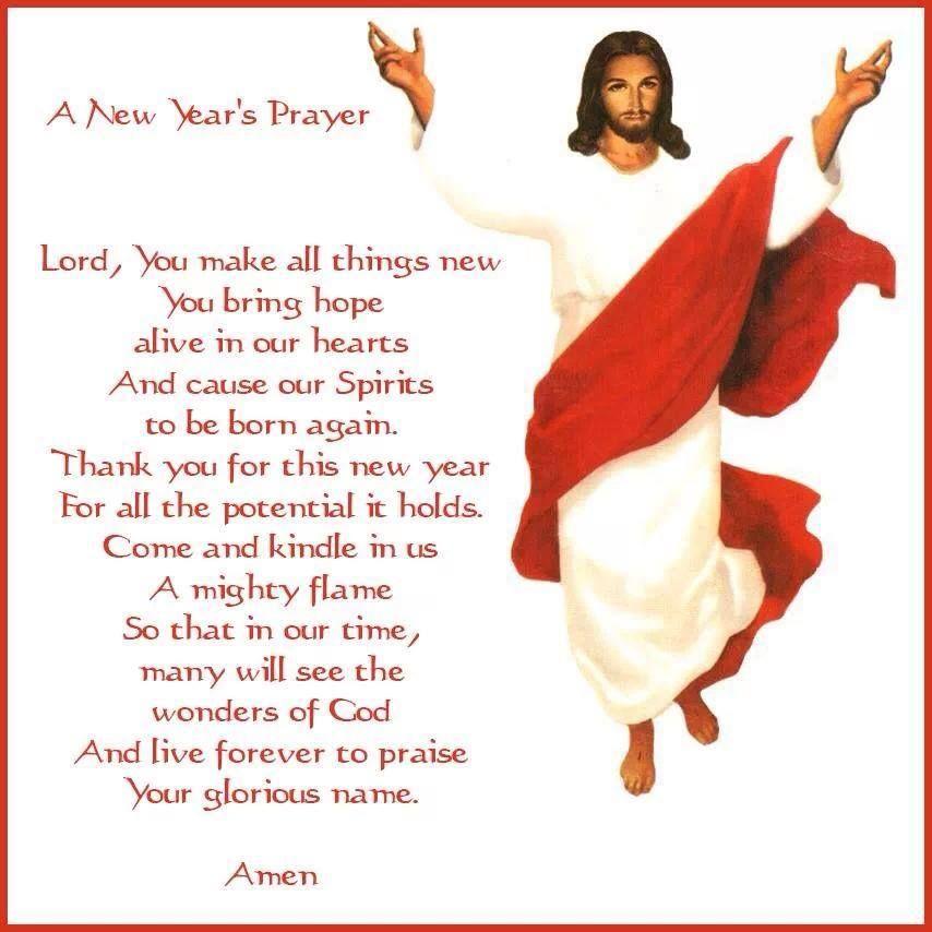 A New Year\'s Prayer | CF Catholic Prayer | Pinterest | Prayers, New ...